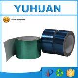 Клейкая лента горячего надувательства голубая/зеленая брезента