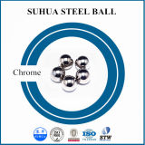 Esfera de aço de carregamento brilhante de cromo da superfície G100 6mm