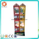 Эксплуатируемый монеткой торговый автомат конфеты когтя ягнится машина игры