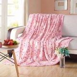 女の子部屋のためのかわいいマイクロ柔らかいプラシ天のミンク毛布