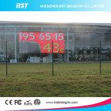 Écran de haute résolution d'affichage vidéo de P5 SMD Wateproof DEL pour la publicité commerciale extérieure