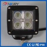 High Power 20W CREE LED Work Light para ATV