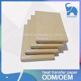 Papel caliente modificado para requisitos particulares de la sublimación del tinte de la venta para el papel lleno de la etiqueta engomada del traspaso térmico de la camiseta