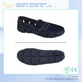 Chaussures légères bon marché d'été, chaussures occasionnelles d'hommes avec le haut de tissu
