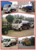 Camion employé couramment d'aspiration d'eaux résiduaires, camions de réservoir d'eau septiques de camion-citerne d'eaux d'égout de pompe de vide à vendre