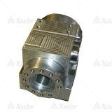 Kundenspezifische maschinell bearbeitenteile der Metallpräzision CNC-Maschinen-Parts/CNC