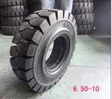 단단한 포크리프트 타이어 6.50-10 의 Linde 단단한 지게차 타이어를 650-10 쉽 적합하십시오