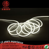 Tubo de doble cara exterior blanco caliente LED Neon Flex SMD 2835 IP65