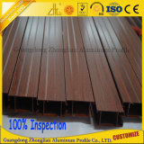 China-Hersteller-hölzernes Korn-Aluminiumstrangpresßling-Profil