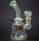 De glanzende Kleurrijke Boorplatforms van de Pijpen van het Glas van de Fabrikant In het groot Rokende