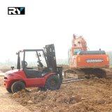 Ruwe Diesel van het Terrein Vorkheftruck, 2.5 Ton met Motor Yanmar