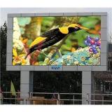 LED 영상 벽을%s 풀 컬러 옥외 광고 P5 발광 다이오드 표시 내각