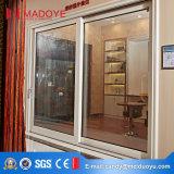 Portello di vetro di scivolamento di alluminio robusto di profilo