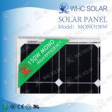 Mono modulo solare 150W di alta qualità per il sistema