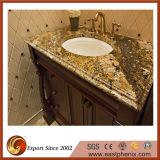 Venetian верхняя часть тщеты гранита золота для ванной комнаты