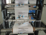 Máquina flexográfica de la película del LDPE de la impresora de los colores helicoidales del engranaje 4