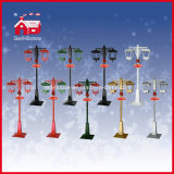 LED Christmas Decorative Chandelier Street Lights mit Snow und Music