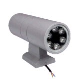 Produits LED RGB 6W Double Side Lighting Outdoor Wall Light