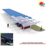 신식 알루미늄 합금 간이 차고 태양 설치 해결책 (MD0134)