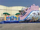 Diapositiva inflable del mar de la diapositiva inflable gigante del mundo combinada