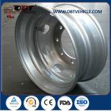Roue 17.5 de camion d'acier inoxydable de haute performance 19.5 22.5 24.5
