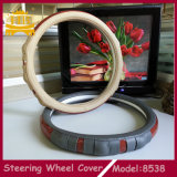 Хорошая материальная крышка рулевого колеса автомобиля конкурентоспособной цены PU+Wooden
