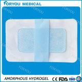 Rectification d'hydrogel et soin de blessure de brûlure