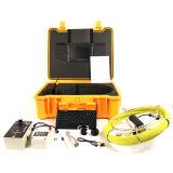 Câmera do localizador para a inspeção subterrânea do esgoto da tubulação com pushrod