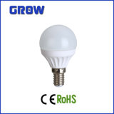 높은 Lumen 6W E14 SMD LED Mini Globe Light (GR2855-1T)