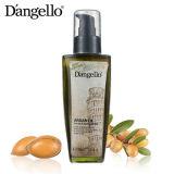 Lasciare dell'olio del Argan in siero dei capelli di trattamento dei capelli