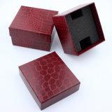 Новые коробки вахты /Women людей бумаги Leatherette зерна Crocodi/Lelitchi с UV печатание