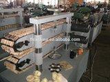 Qualitäts-Edelstahl-gewölbter Schlauch, der Maschine herstellt