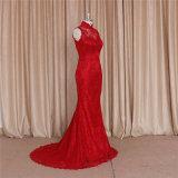 Китайское Backless красное платье вечера платьев венчания