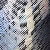 Dunkles Grey Leuchte-gelbes Perforated Aluminum Panel für Wall Cladding/Metal Roof