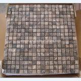 Mosaico di marmo bianco di Carrara per la stanza da bagno