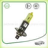 Luz de névoa do halogênio amarelo do farol H1 auto/lâmpada