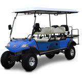 Boguet électrique de golf de chasse avec le panneau solaire (DEL2042D2Z, 4+2seat)