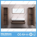 Dernières Populaire et moderne en bois MDF Grand espace Bathroom Furniture-B794D