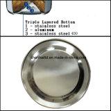 grande caldaia del fischio dell'acciaio inossidabile 6.0L