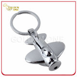 Forme de plan personnalisée LED Torch Metal Key Holder