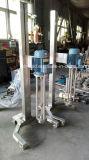 Misturador pneumático da pintura da tesoura elevada móvel do aço inoxidável