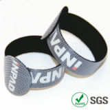 RoHS Custom Logo Nylon Tape Type Hook와 Loop Cable Tie