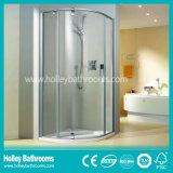 Vendedora caliente Hinger puerta de la ducha montada en el piso (SE305N)