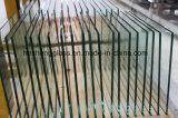 vidro Tempered Tabletop do escritório quadrado desobstruído de 10mm