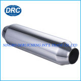 Tipo universal cuerpo de acero inoxidable del silenciador del extractor