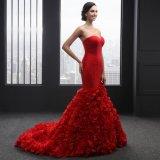 L'amoureux de sirène sans manche lacent vers le haut la robe de soirée (SL2017)
