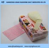 Wipe хлопка Non-Fluoscrent для чистки Fe014 руки & стороны