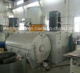 Machine à grande vitesse verticale/se refroidissante de poudre en plastique de PVC de mélangeur
