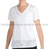 Indumento poco costoso della maglietta delle donne (ELTWTJ-346)