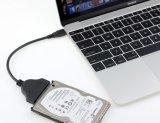 C/SATA 6g 2.5 인치 이동할 수 있는 하드 디스크 접합기 케이블을 타자를 치십시오
